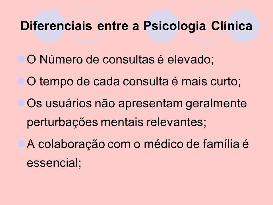 Diferenciais entre a Psicologia Clínica
