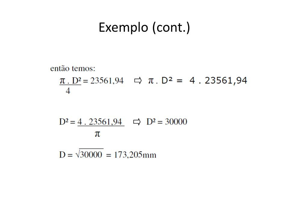 Exemplo (cont.)
