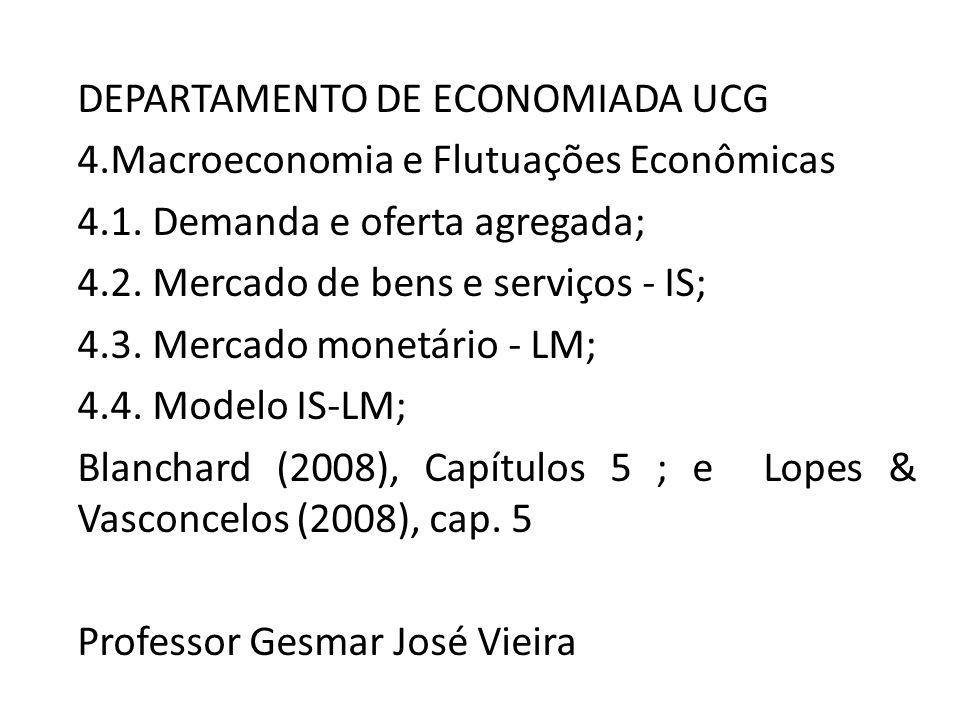 DEPARTAMENTO DE ECONOMIADA UCG