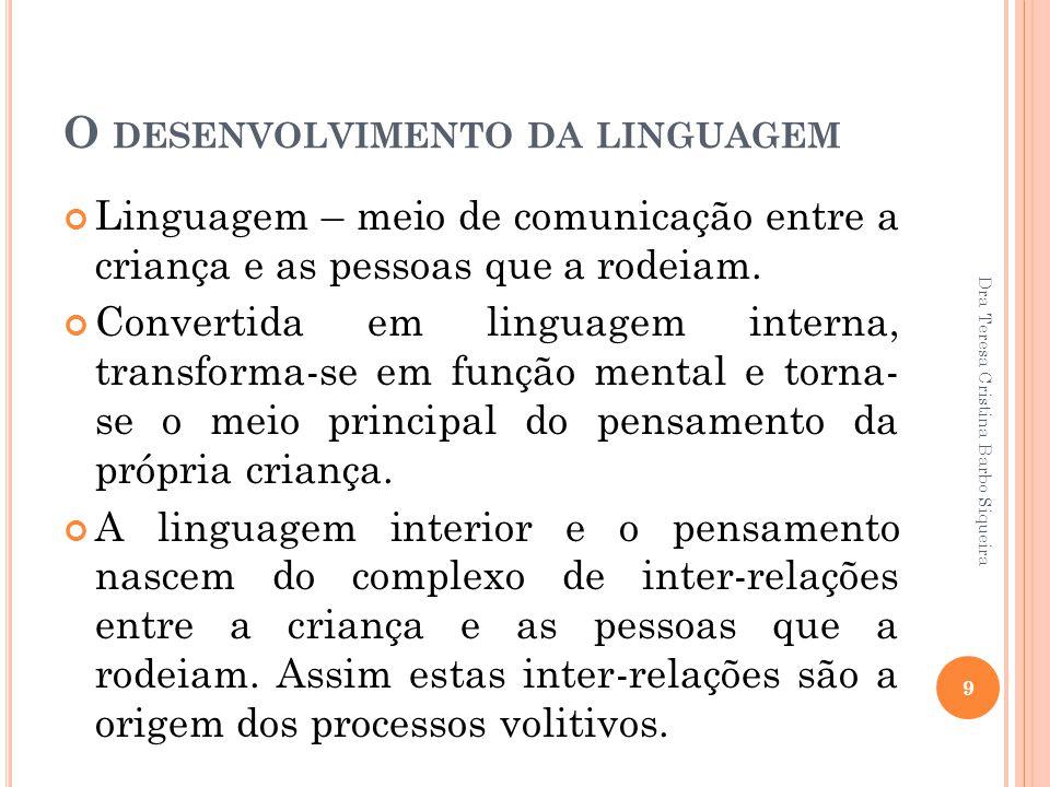 O desenvolvimento da linguagem