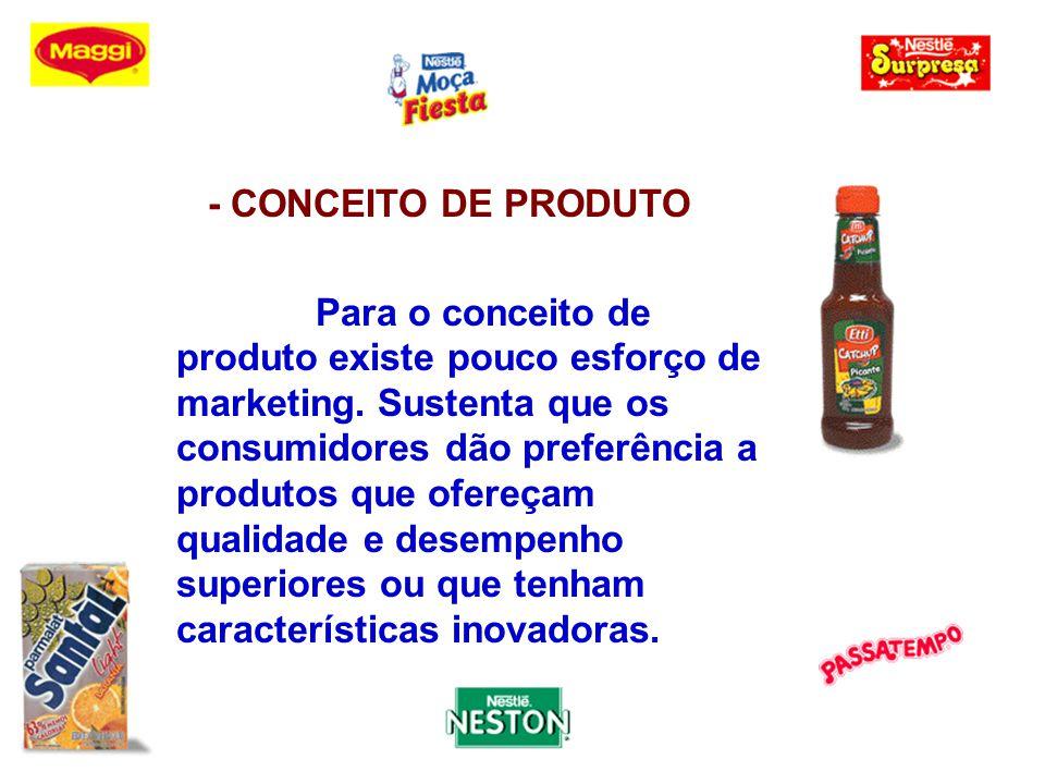 - CONCEITO DE PRODUTO