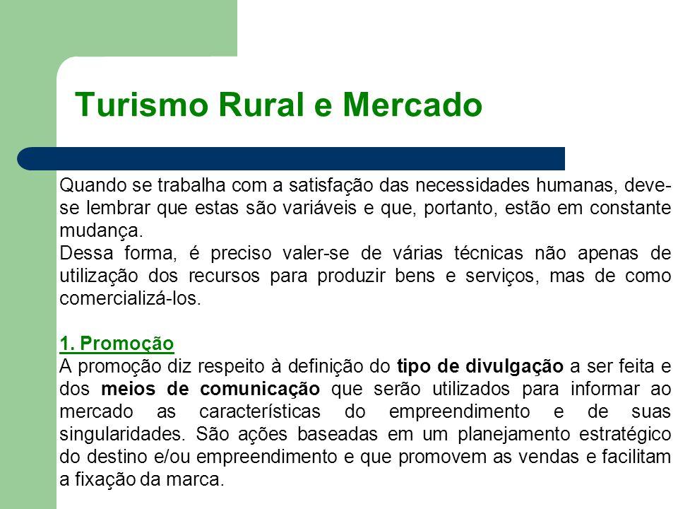 Turismo Rural e Mercado