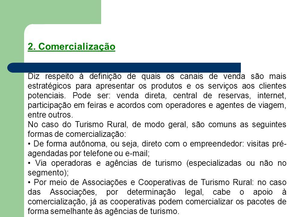 2. Comercialização
