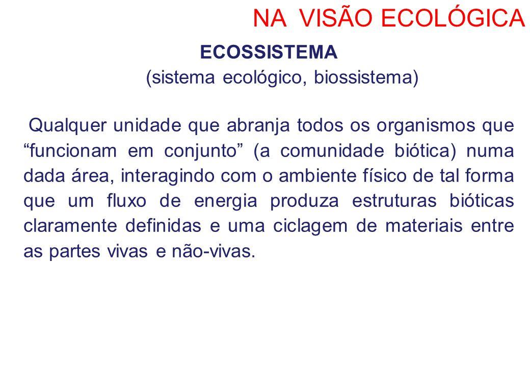 (sistema ecológico, biossistema)