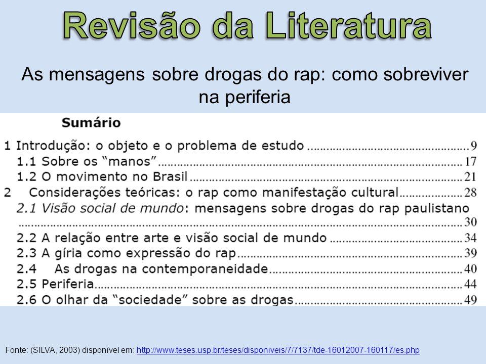 As mensagens sobre drogas do rap: como sobreviver na periferia