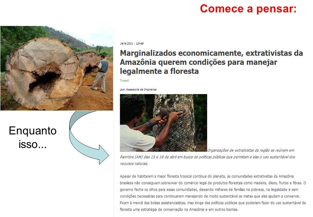 Exploração Recursos naturais