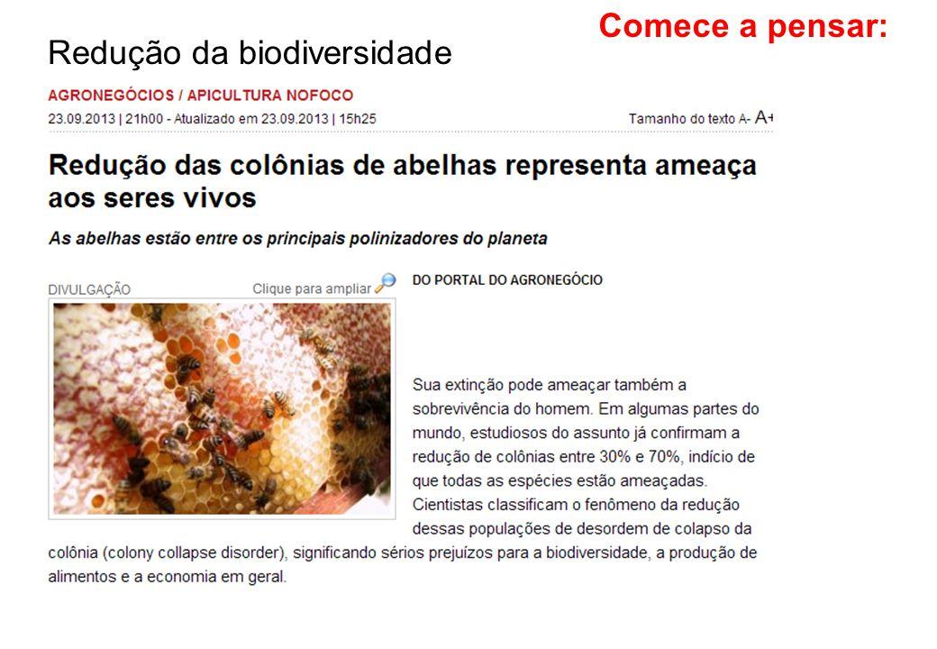 Redução da biodiversidade