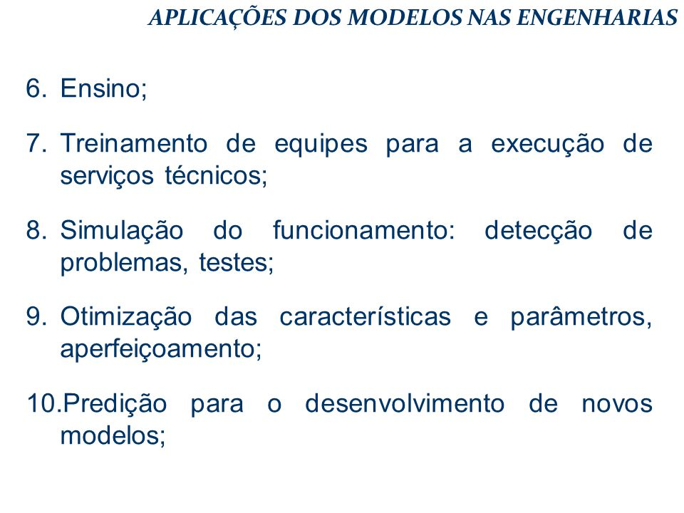 Treinamento de equipes para a execução de serviços técnicos;