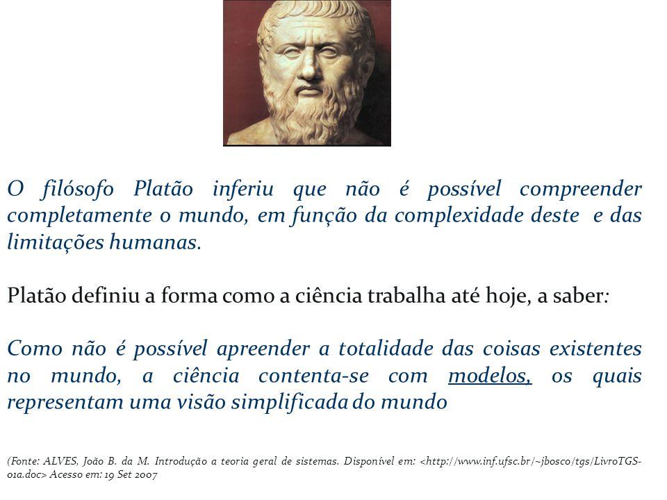 Platão definiu a forma como a ciência trabalha até hoje, a saber: