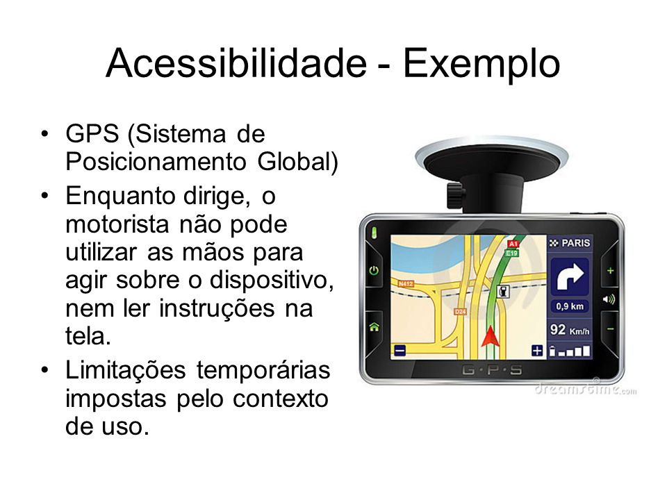 Acessibilidade - Exemplo