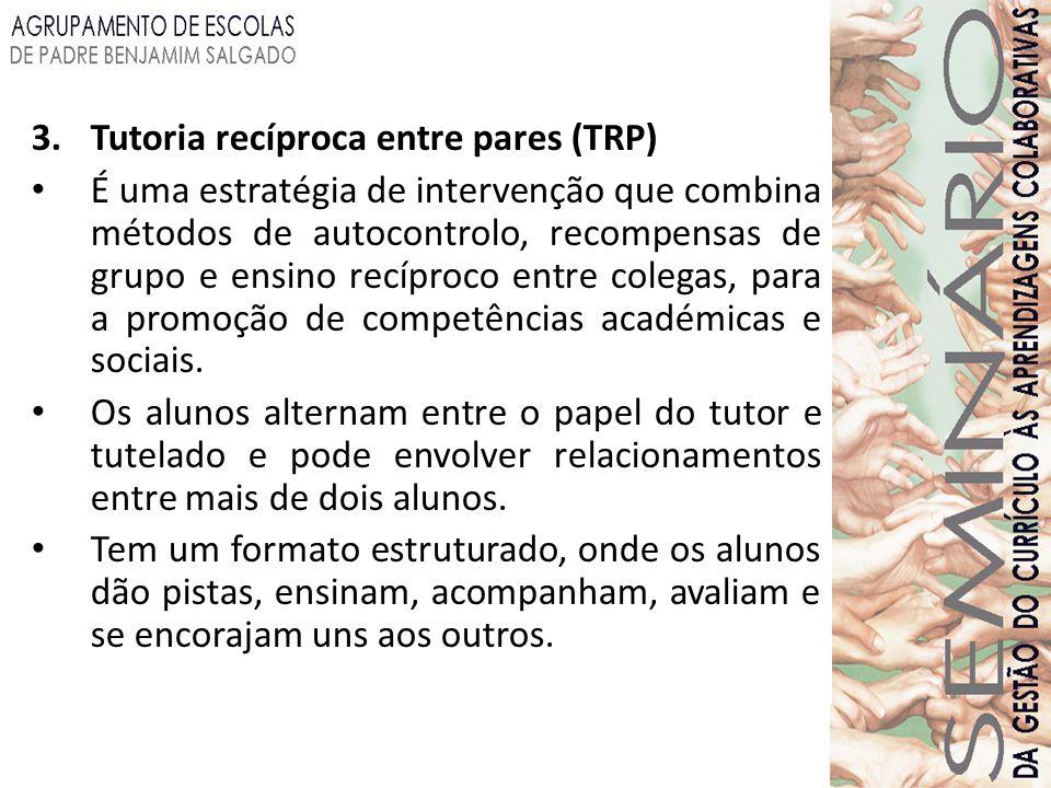 Tutoria recíproca entre pares (TRP)