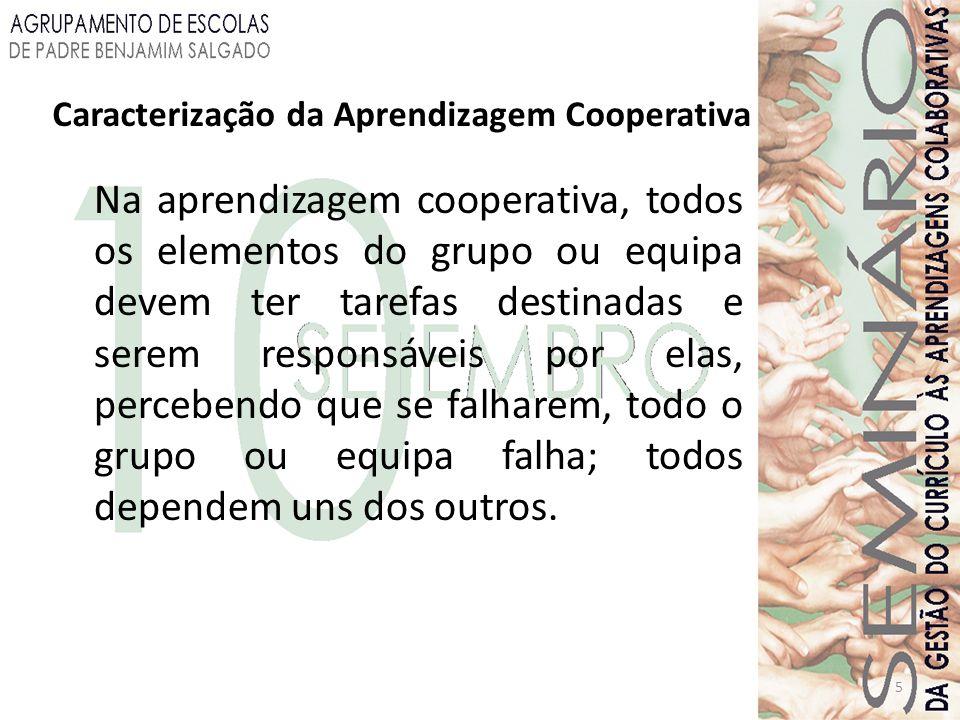 Caracterização da Aprendizagem Cooperativa