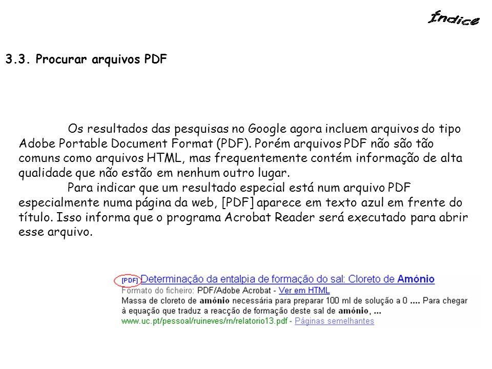 3.3. Procurar arquivos PDF