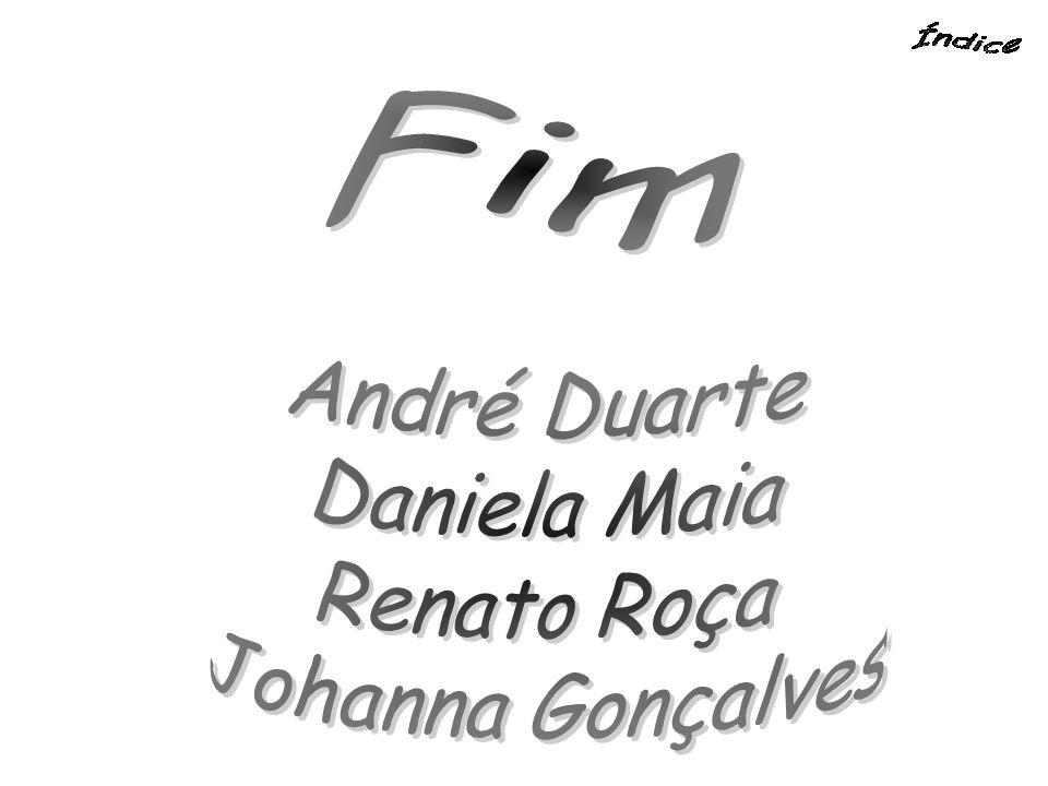 Fim André Duarte Daniela Maia Renato Roça Johanna Gonçalves