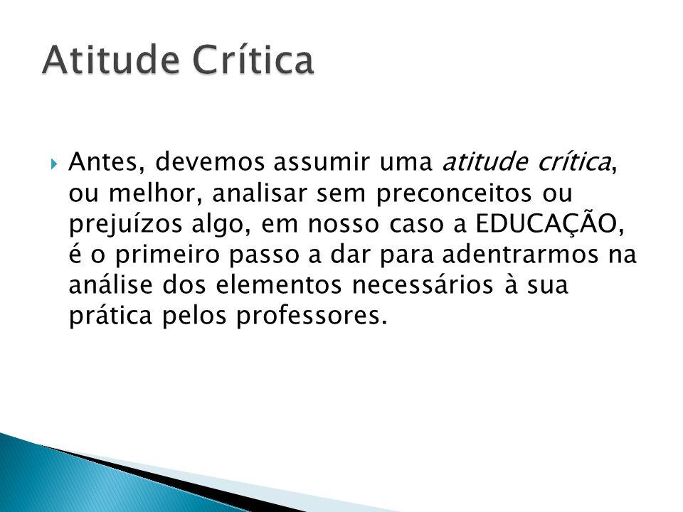 Atitude Crítica