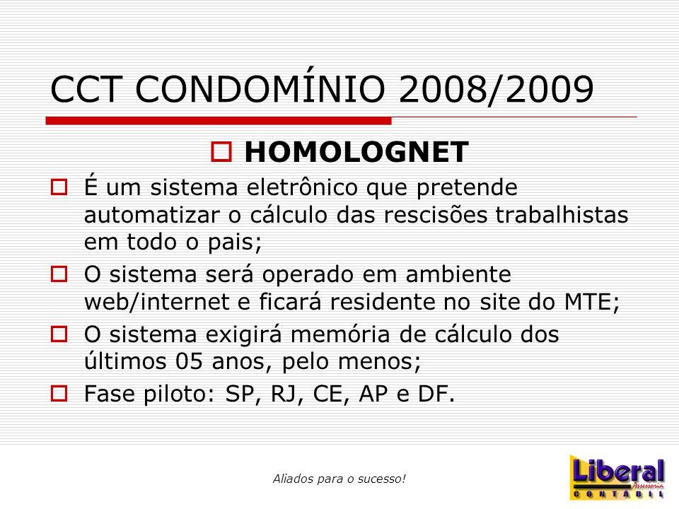 CCT CONDOMÍNIO 2008/2009 HOMOLOGNET