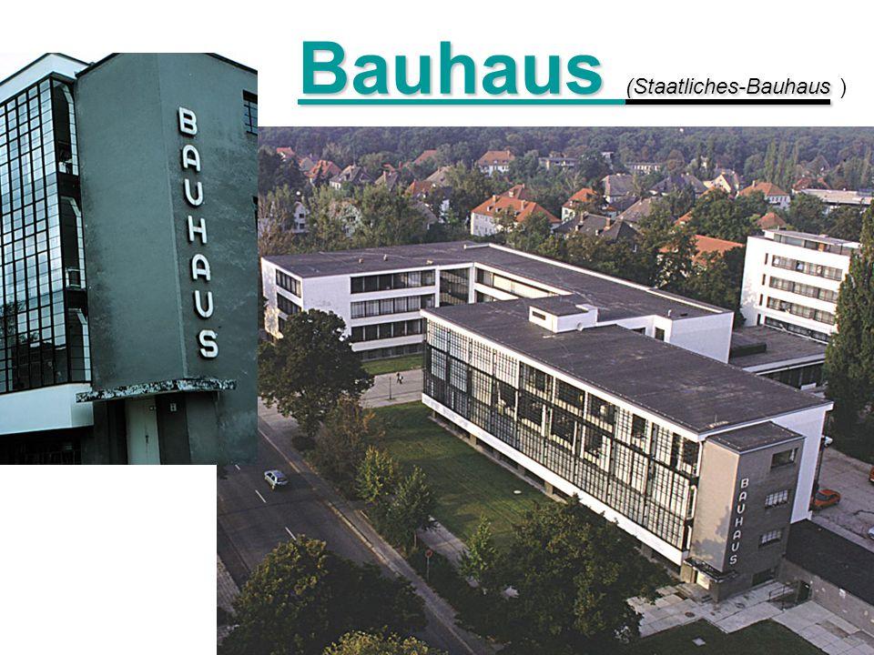 Walter gropious ppt carregar for Staatliches bauhaus