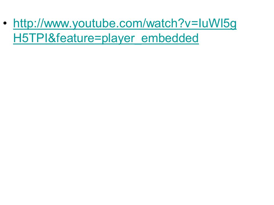 http://www.youtube.com/watch v=IuWl5gH5TPI&feature=player_embedded