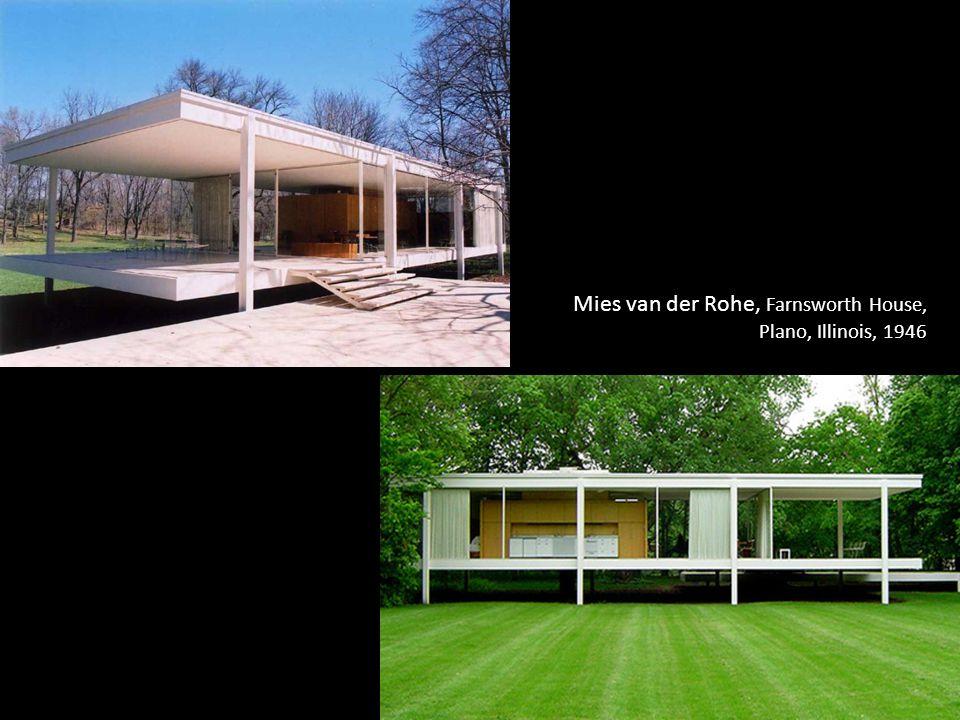 Mies van der Rohe, Farnsworth House,