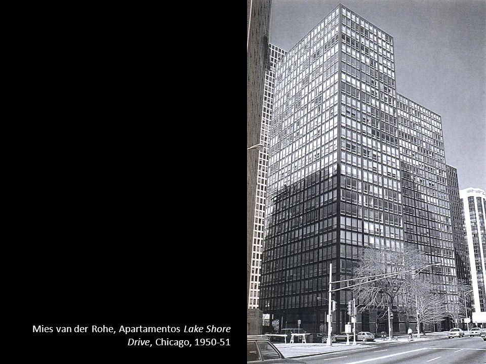 Mies van der Rohe, Apartamentos Lake Shore Drive, Chicago, 1950-51