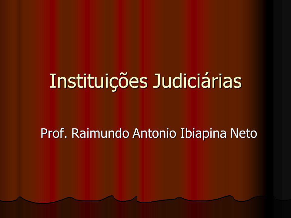Instituições Judiciárias