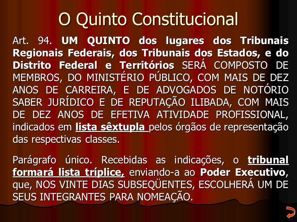 O Quinto Constitucional