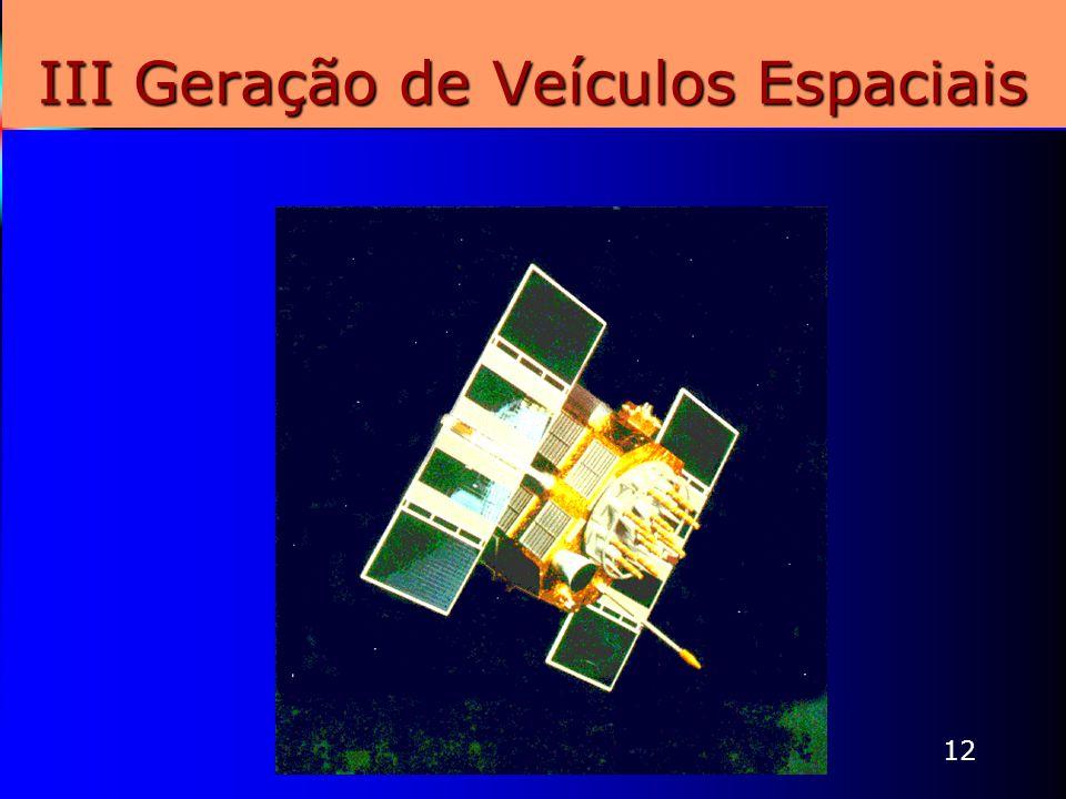 III Geração de Veículos Espaciais