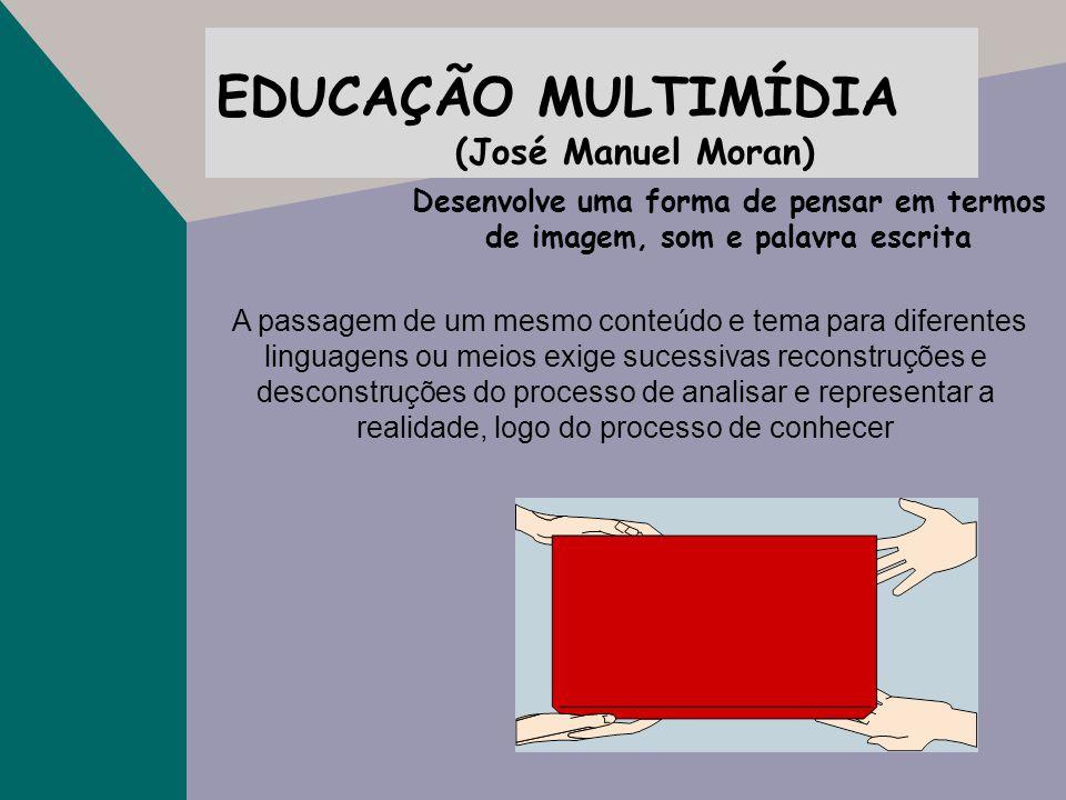 EDUCAÇÃO MULTIMÍDIA (José Manuel Moran)