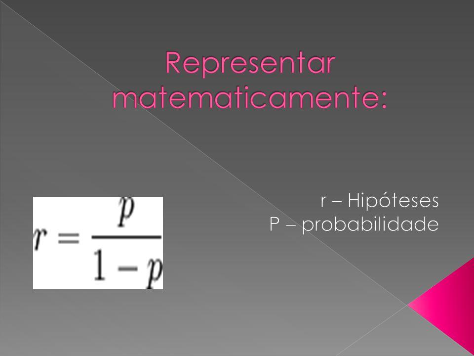 Representar matematicamente:
