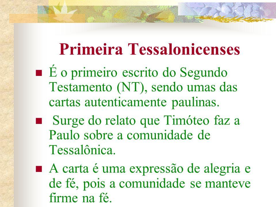 Primeira Tessalonicenses