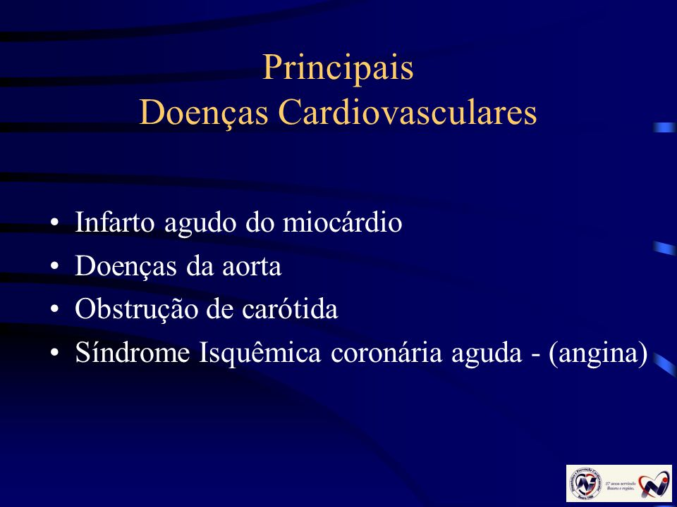 Principais Doenças Cardiovasculares