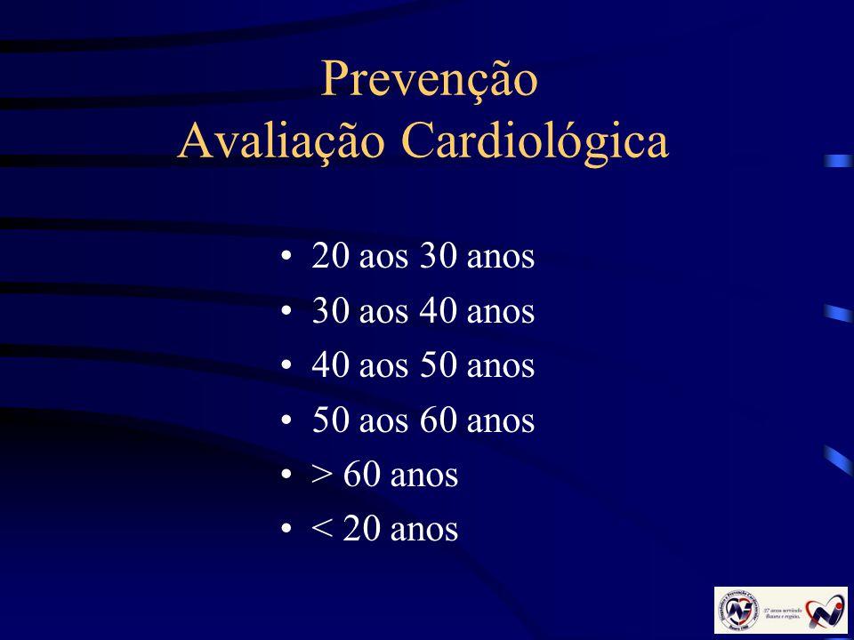 Prevenção Avaliação Cardiológica