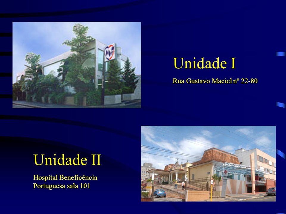 Unidade I Unidade II Rua Gustavo Maciel nº 22-80
