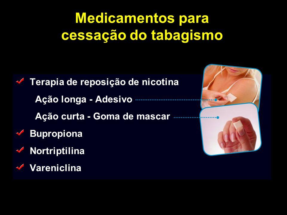Medicamentos para cessação do tabagismo