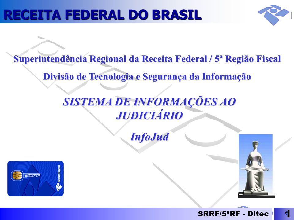 SISTEMA DE INFORMAÇÕES AO JUDICIÁRIO InfoJud