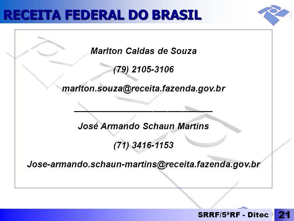Marlton Caldas de Souza (79) 2105-3106