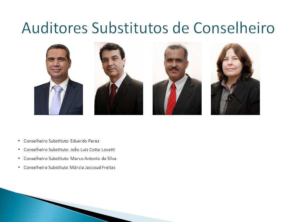 Auditores Substitutos de Conselheiro