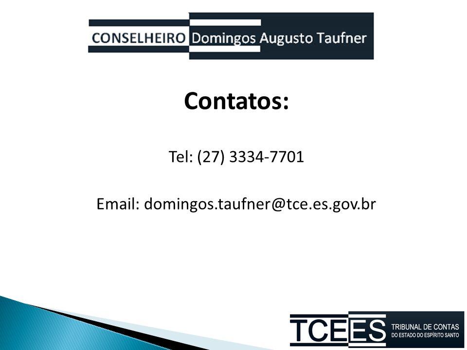 Email: domingos.taufner@tce.es.gov.br