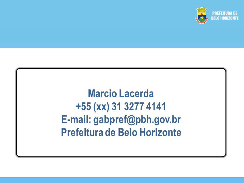 E-mail: gabpref@pbh.gov.br Prefeitura de Belo Horizonte