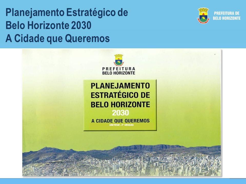 Planejamento Estratégico de Belo Horizonte 2030 A Cidade que Queremos