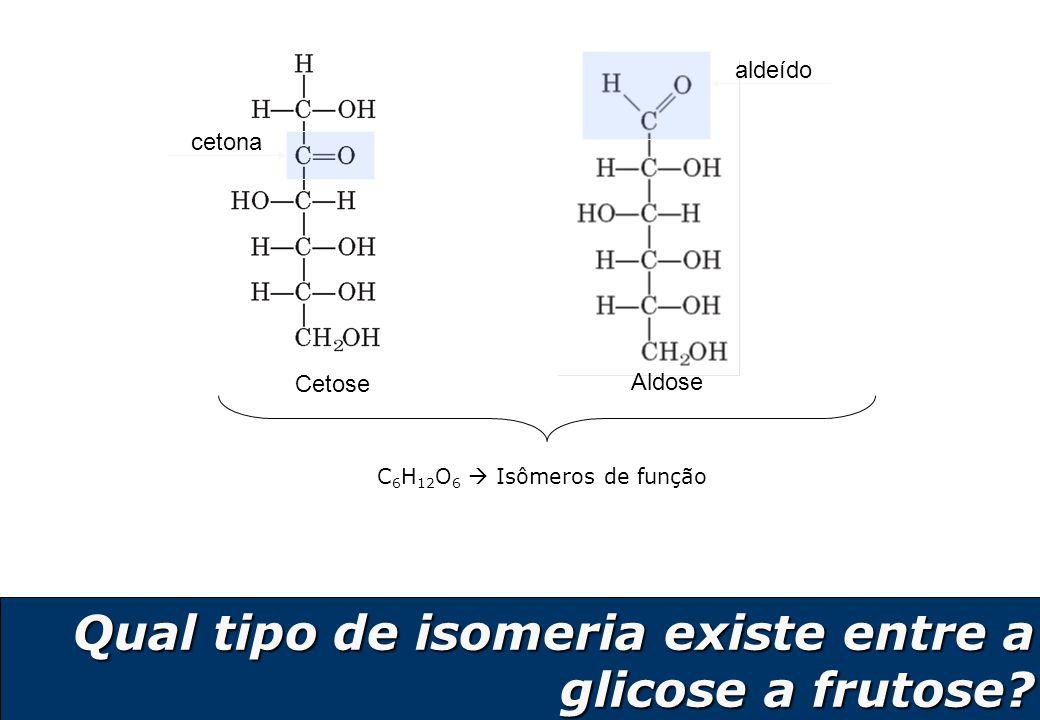 C6H12O6  Isômeros de função