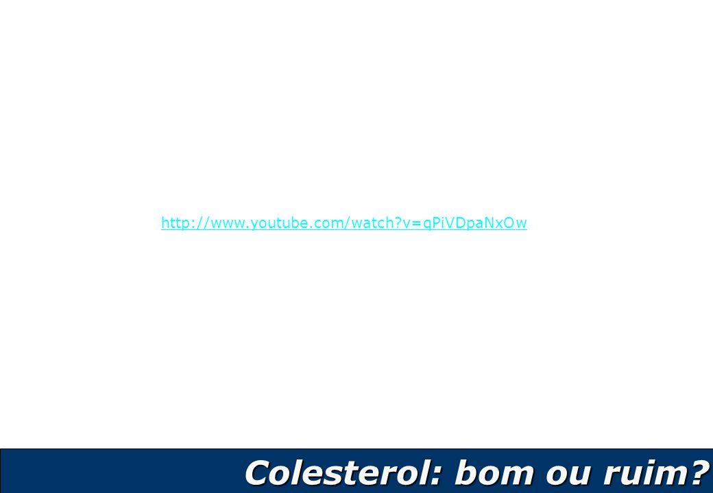 Colesterol: bom ou ruim