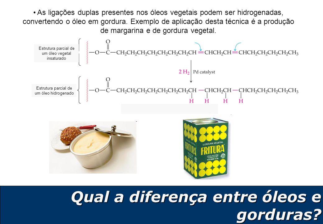 Qual a diferença entre óleos e gorduras