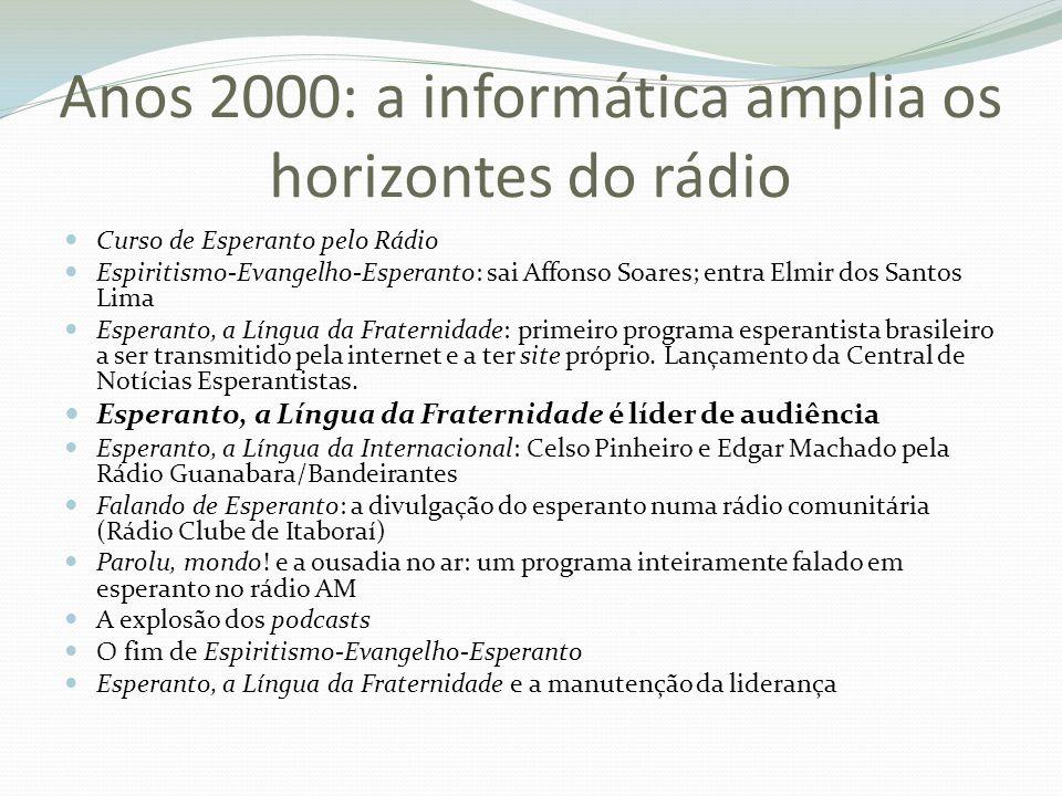 Anos 2000: a informática amplia os horizontes do rádio
