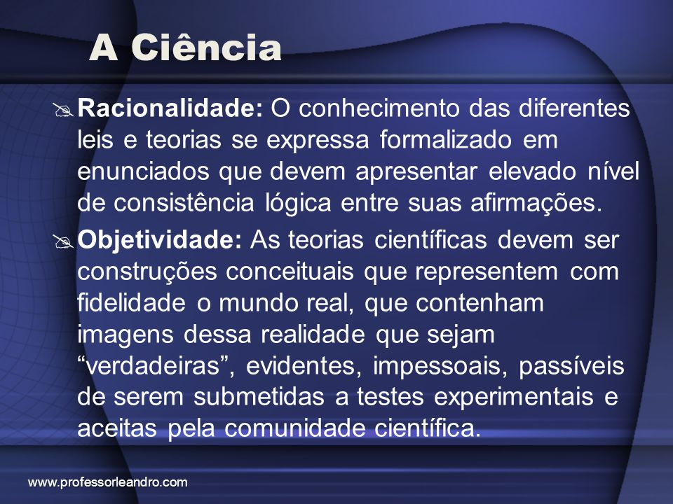 A Ciência