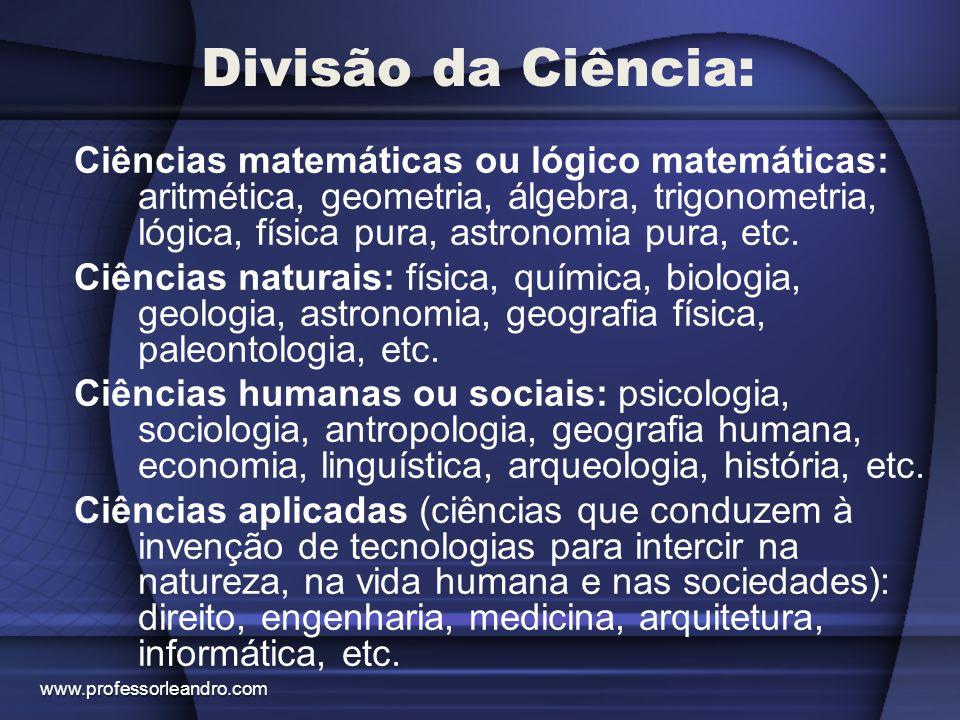 Divisão da Ciência: