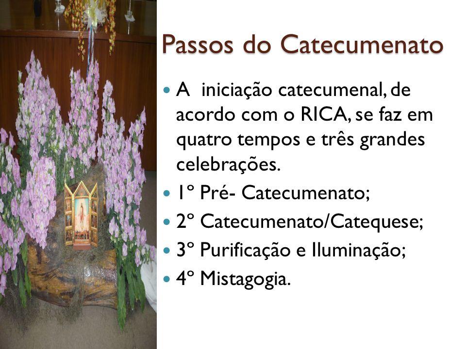 Passos do Catecumenato