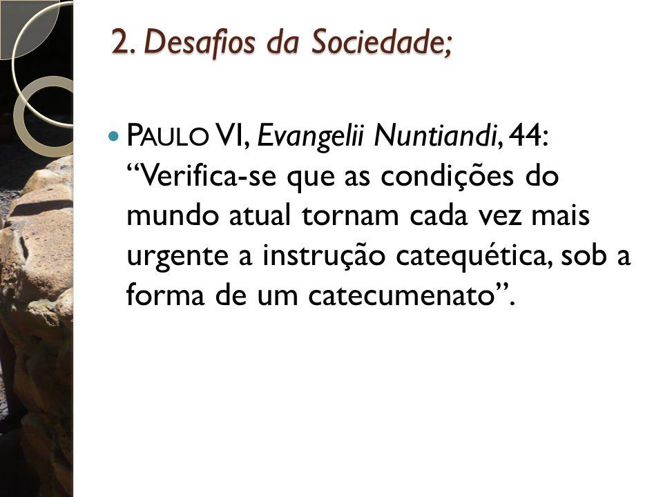 2. Desafios da Sociedade;