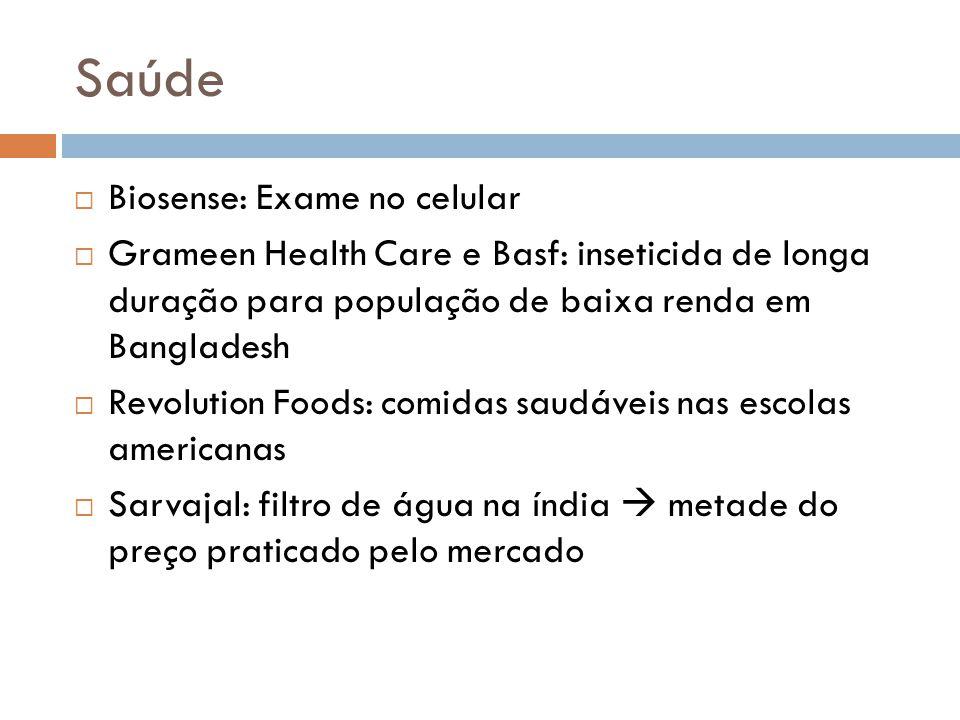 Saúde Biosense: Exame no celular