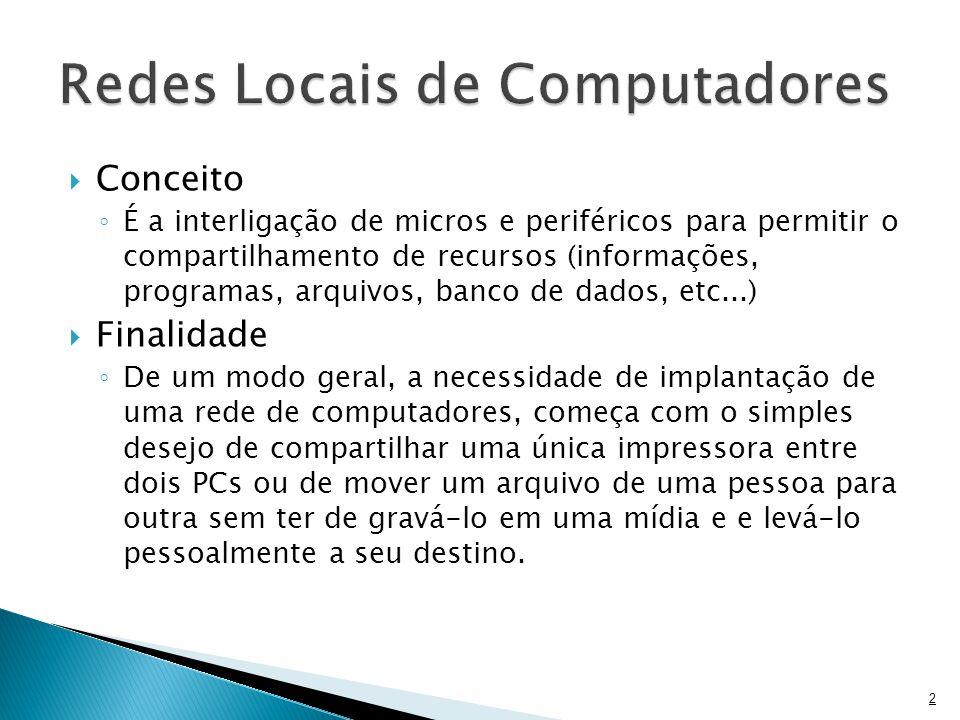Redes Locais de Computadores